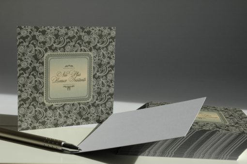 CARTE INSERT BAROQUE POCHETTE CD 4
