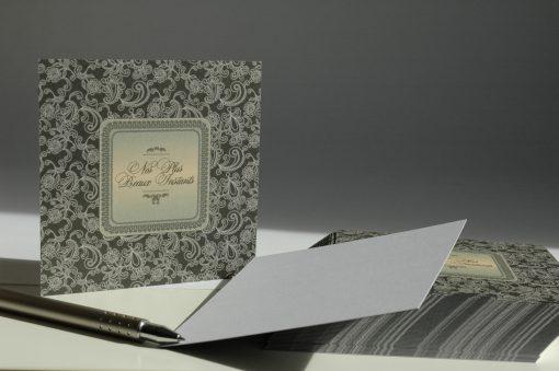 CARTE INSERT BAROQUE POCHETTE CD 4