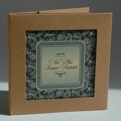 CARTE INSERT BAROQUE POCHETTE CD 2