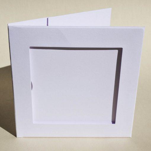 pochette CD blanche