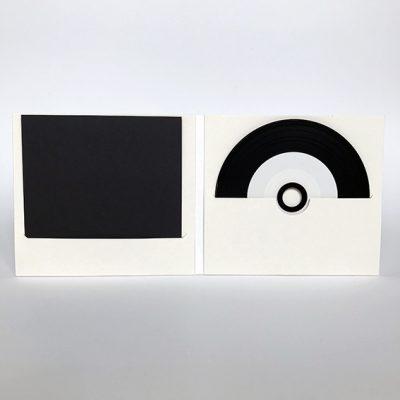 Pochette CD digifile en carton retourné 2 fentes