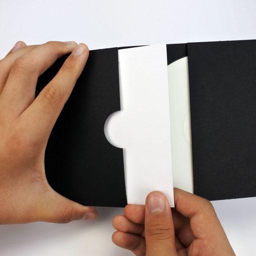 Pochette CD Noire Digisleeve 2