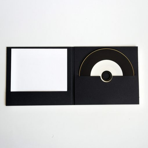 POCHETTE CD DIGIFILE NOIRE