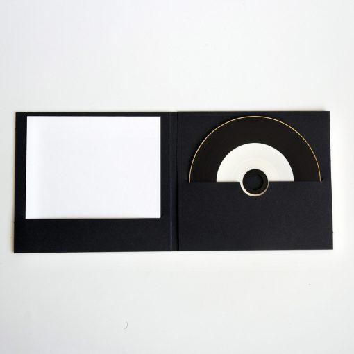 POCHETTE CD DIGIFILE NOIRE